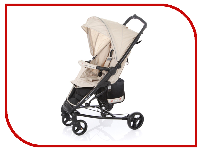Коляска Baby Care Rimini S-401B Beige аксессуар baby care набор светоотражающих накладок для коляски 2шт white