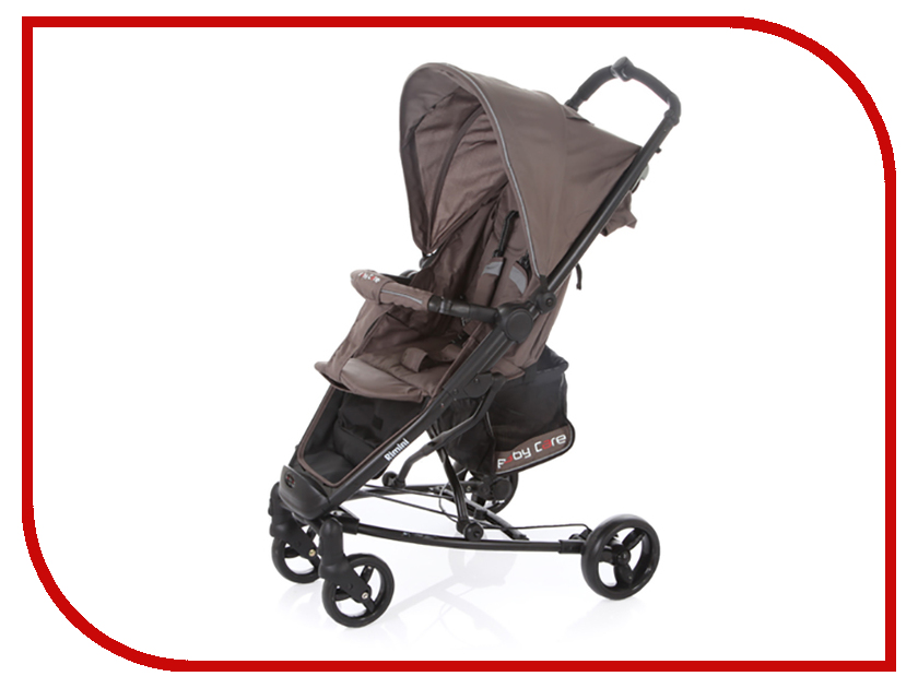 Коляска Baby Care Rimini S-401B Coffee аксессуар baby care набор светоотражающих накладок для коляски 2шт white