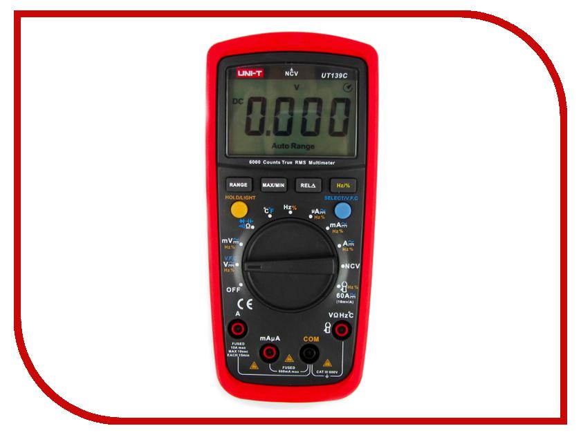 Мультиметр UNI-T UT139C uni uni t ut376 цифровой манометр универсальный шин