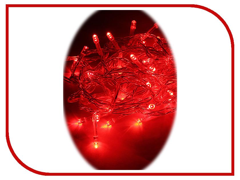 Гирлянда Космос Экономик 80 LED Red KOC_GIR80LED_R гирлянда космос экономик шарики витые 30 led multicolor koc gir30ledrubball2 rgb