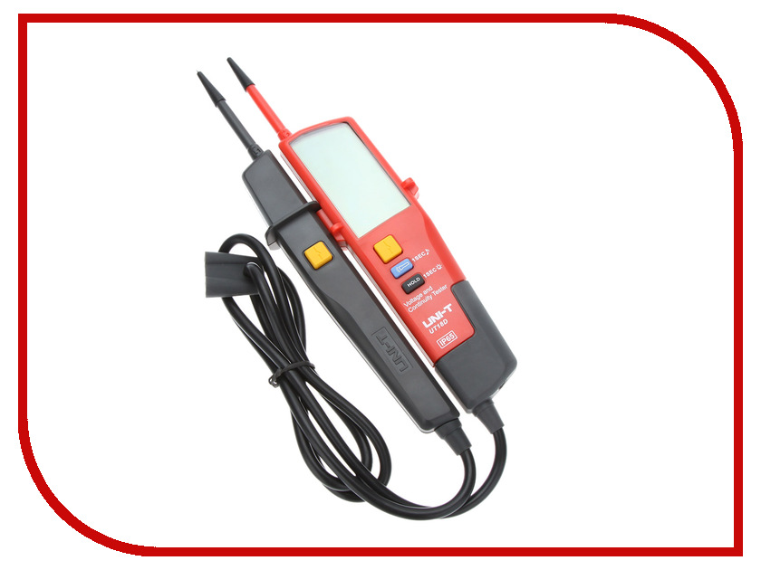 Тестер напряжения UNI-T UT18D uni t ut139a true rms digital multimeter auto manual range ac dc amp volts ohm tester with data hold ncv and battery test