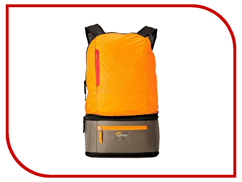 LowePro Passport Duo Orange-Khaki passport a passport pb148557 139