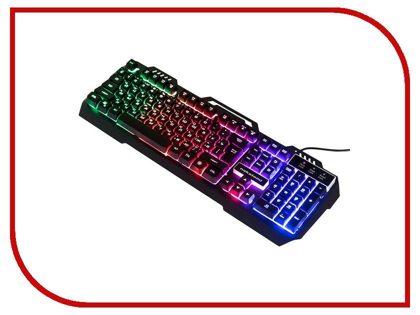 Клавиатура Nakatomi KG-35U Black supra sfd 35u