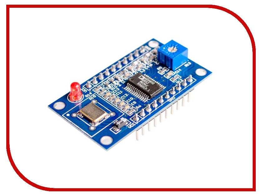 Конструктор Конструктор Радио КИТ RI043 Генератор на микросхеме AD9850 конструктор 4 х канальное реле радио кит ra003