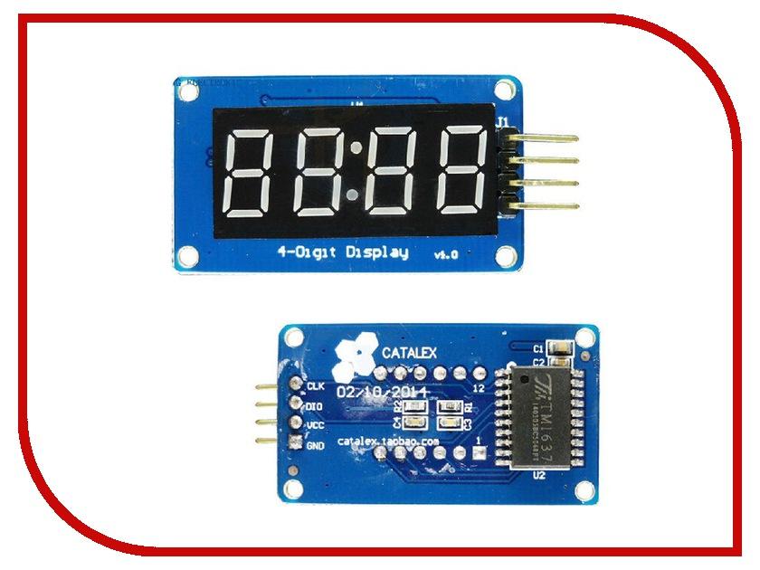 Конструктор Модуль Часов LED дисплей Радио КИТ RA064 конструктор модуль маломощных ключей радио кит rs280b 1m