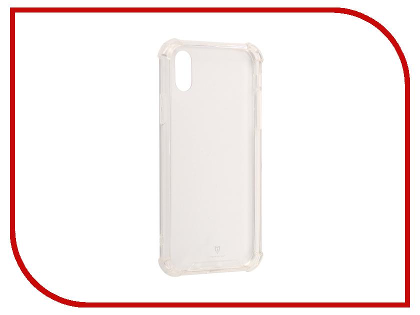 Аксессуар Чехол-накладка Monsterskin HD Crash Guard для APPLE iPhone X аксессуар защитное стекло monsterskin 5d для apple iphone 6 plus white
