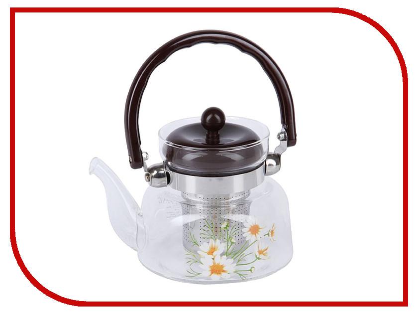 Чайник заварочный Rosenberg RGL-250018 600ml чайник заварочный rosenberg rgl 250019 1 1l
