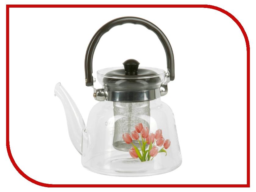 Чайник заварочный Rosenberg RGL-250020 1.3L чайник заварочный rosenberg rgl 250019 1 1l