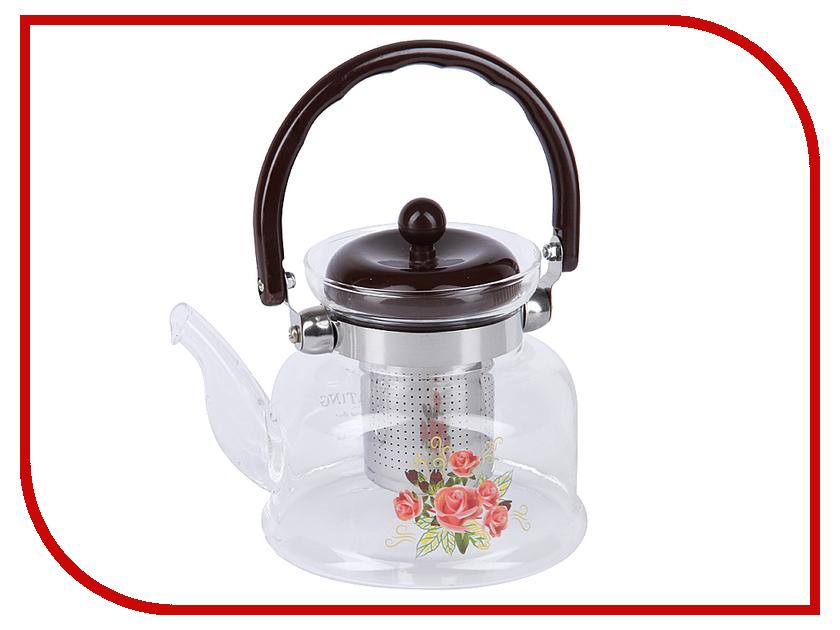 Чайник заварочный Rosenberg RGL-250021 800ml rosenberg 6464