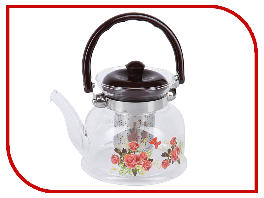 Чайник заварочный Rosenberg RGL-250022 1L rosenberg 6464