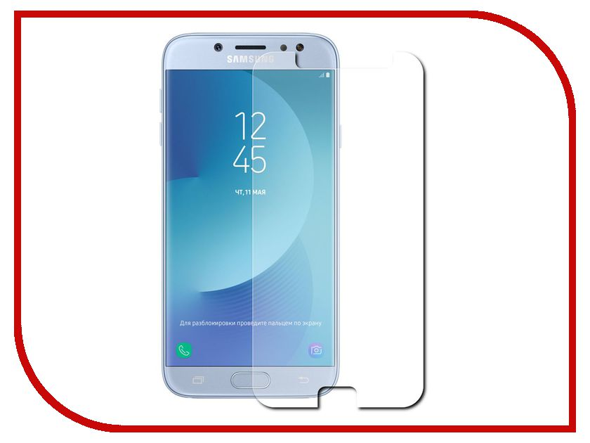 Аксессуар Защитная плёнка для Samsung Galaxy J7 2017 J730 Monsterskin Super Impact Proof аксессуар защитная плёнка samsung galaxy a3 2017 a320 monsterskin super impact proof 360 matte