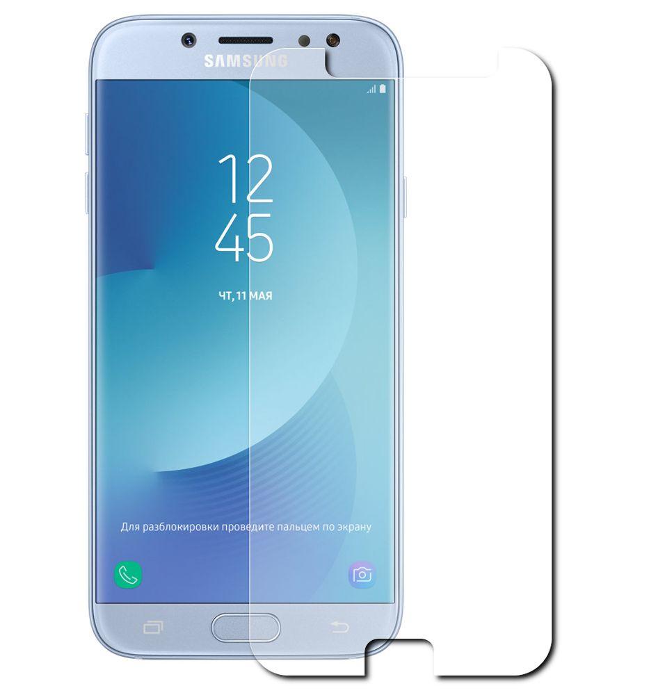 Аксессуар Защитная плёнка для Samsung Galaxy J7 2017 J730 Monsterskin Super Impact Proof аксессуар чехол накладка для samsung galaxy s7 monsterskin hd crash guard