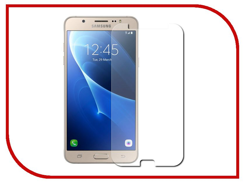 Аксессуар Защитная плёнка для Samsung Galaxy J7 2016 J710 Monsterskin Super Impact Proof samsung galaxy j7 j710 2016 gecko 0 26mm zs26 gsgj7 2016