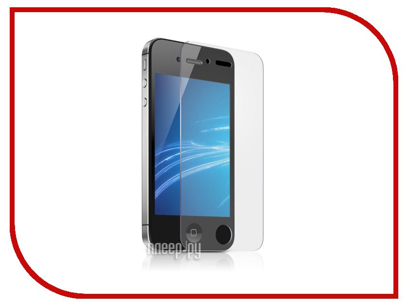 Аксессуар Защитная плёнка Monsterskin Super Impact Proof для APPLE iPhone 4 аксессуар защитное стекло monsterskin 5d для apple iphone 6 plus white