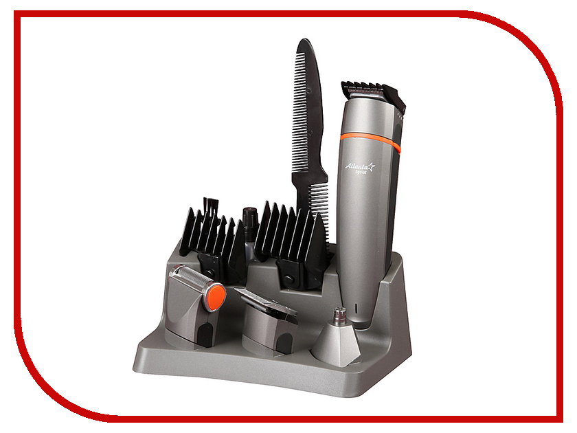 Машинка для стрижки волос Atlanta ATH-845 Grey