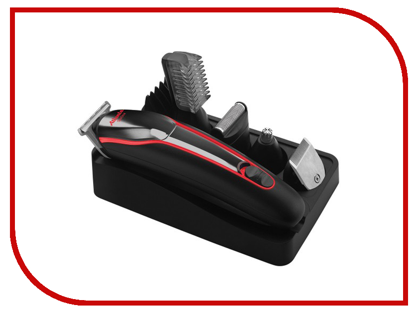 Машинка для стрижки волос Atlanta ATH-6922 Black atlanta ath 845 gray машинка для стрижки