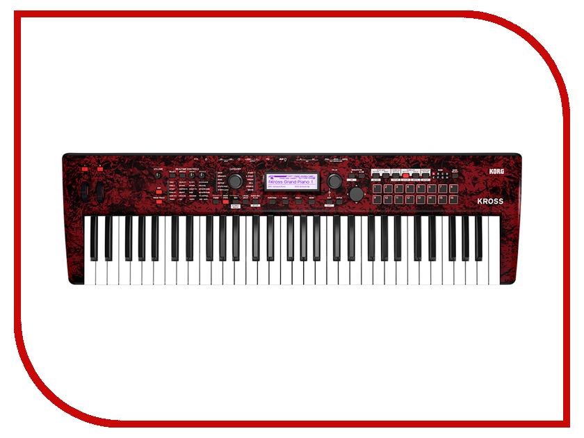 Синтезатор KORG Kross 2 61-RM синтезатор korg kross 2 61 rm