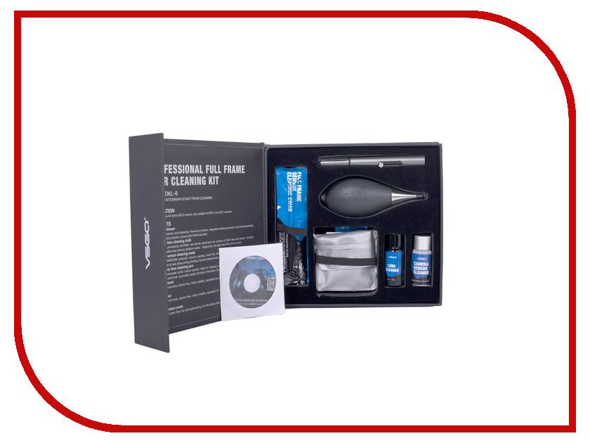 Аксессуар VSGO Набор для чистки полноформатных матриц НБ-8 набор калибр нб 6 sds plus 6шт