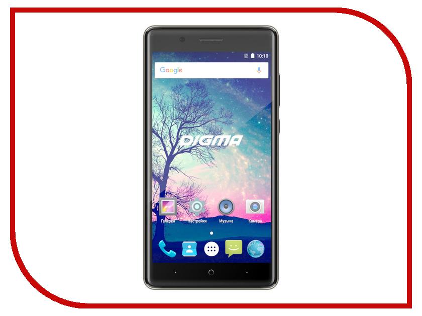 Сотовый телефон Digma Vox S508 3G Grey сотовый телефон digma vox s507 4g white