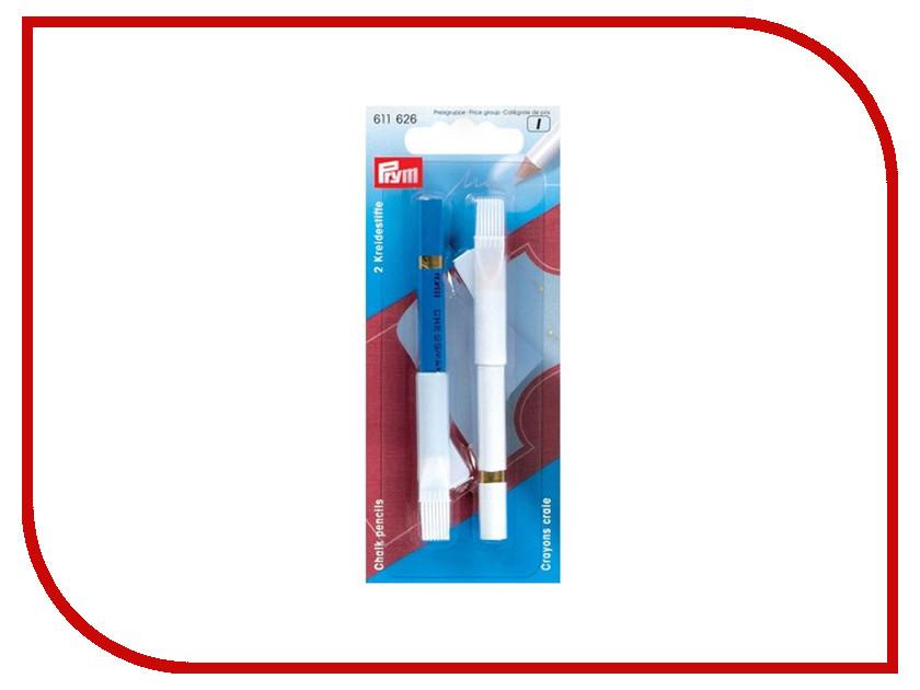 Карандаши меловые Prym White-Blue 611626 игла germany prym prym 029265