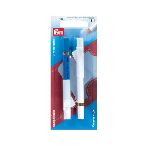 Карандаши меловые Prym White-Blue 611626