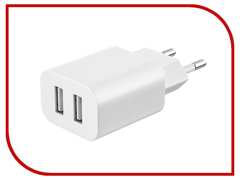 Зарядное устройство Deppa 2.1A Ultra White 11307 imetec 11307