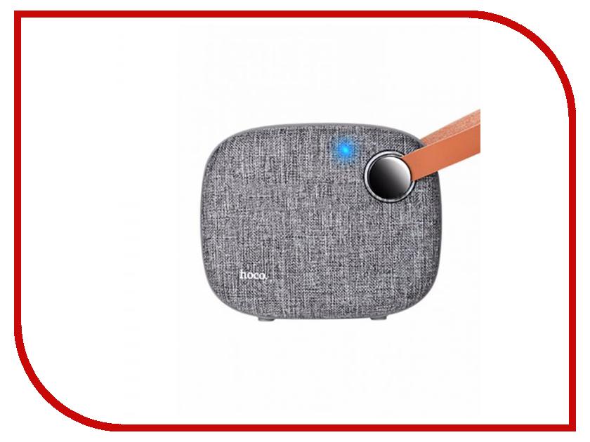 Колонка HOCO BS8 Grey держатель hoco ca3 grey