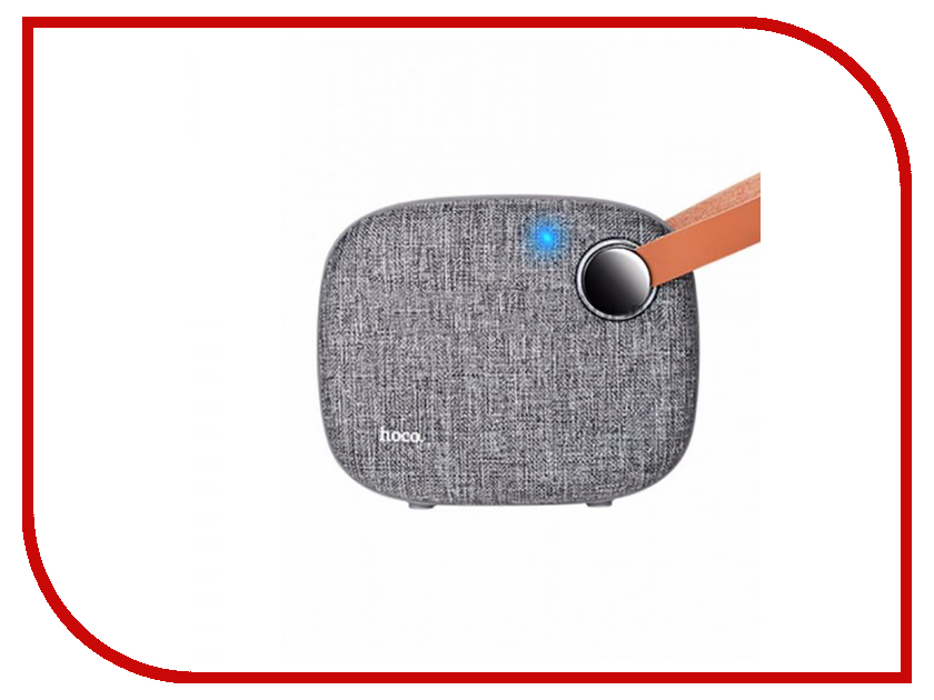 Колонка HOCO BS8 Grey колонка hoco bs6 grey