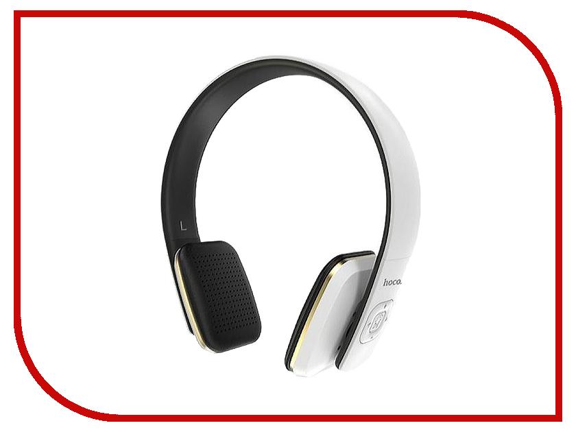 Гарнитура HOCO W9 Bluetooth White защитная пленка для мобильных телефонов 3pcs nokia lumia 730 735