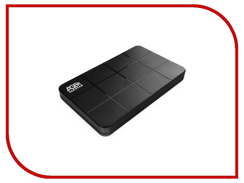 Внешний корпус для HDD / SSD AgeStar 3UB2P1C Black цена и фото