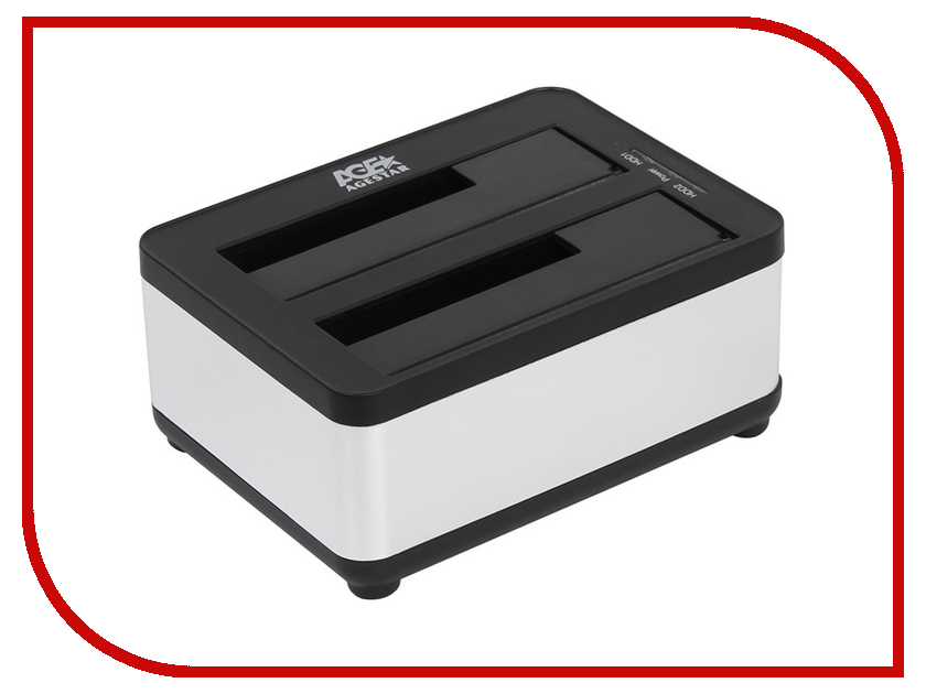 Аксессуар AgeStar Docking Station 3UBT8 Silver