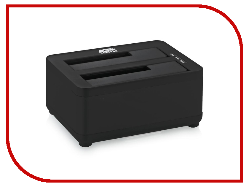 Аксессуар AgeStar Docking Station 3UBT8 Black