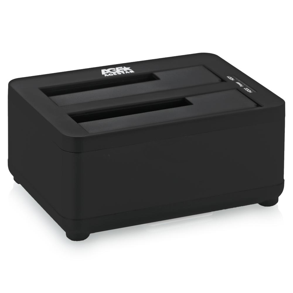 Док-станция AgeStar Docking Station 3UBT8 Black
