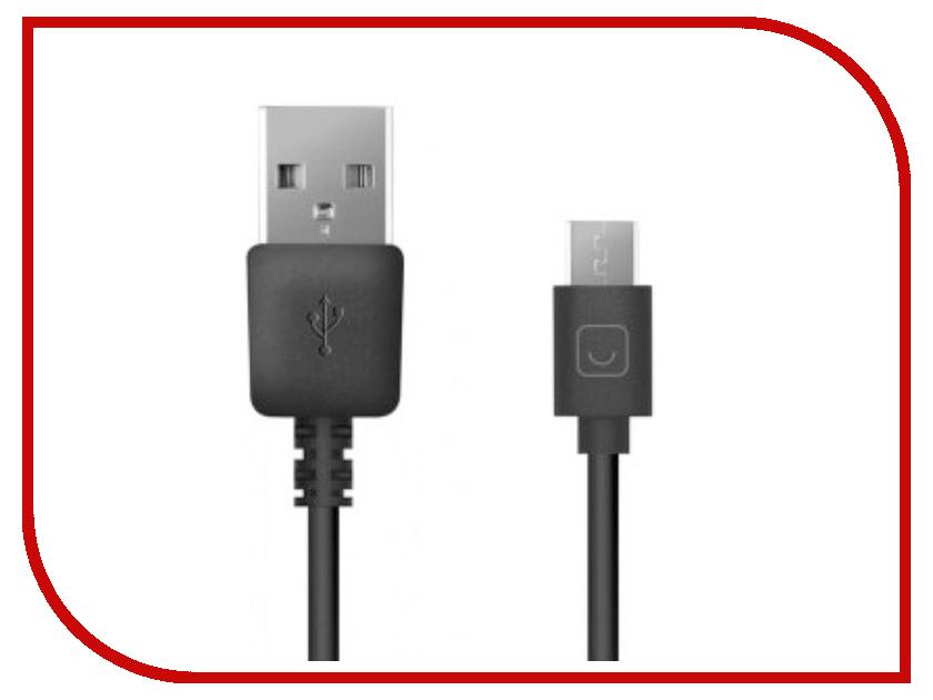 Аксессуар Prime Line USB - microUSB 2m Black PRL-7208 prime line usb miniusb