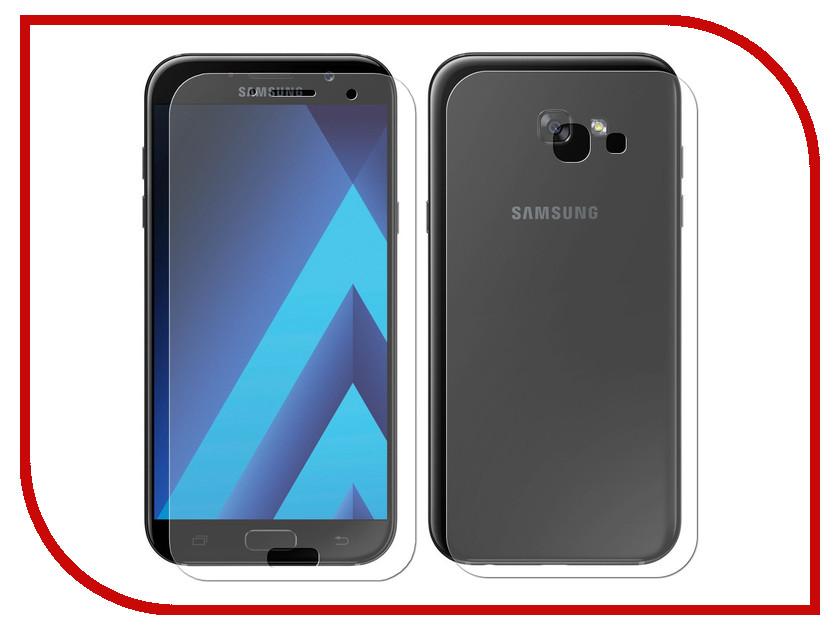 Аксессуар Защитная плёнка Samsung Galaxy A7 2017 Monsterskin Super Impact Proof 360 2in1 Front&Back аксессуар защитная плёнка samsung galaxy a7 2016 a710 monsterskin super impact proof 360