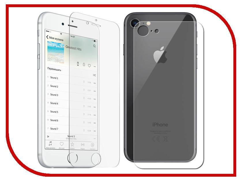 Аксессуар Защитная плёнка Monsterskin Super Impact Proof 360 2in1 Front&Back для APPLE iPhone 7 аксессуар защитная плёнка monsterskin 360 s clear для apple iphone 6 plus