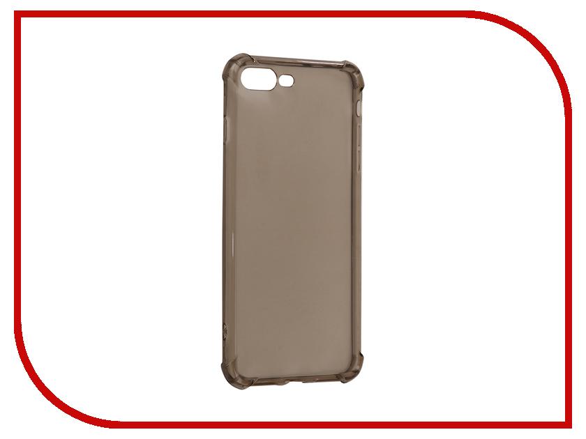 Аксессуар Чехол-накладка Monsterskin для APPLE iPhone 7 Plus Силиконовый Black аксессуар чехол бампер burkley snap on для apple iphone 7 plus black bmcujblrst1i7p