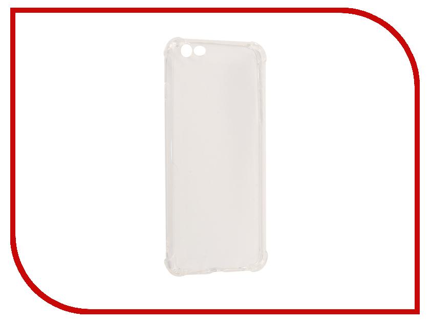 все цены на Аксессуар Чехол-накладка Monsterskin для APPLE iPhone 6 Plus Силиконовый Transparent онлайн