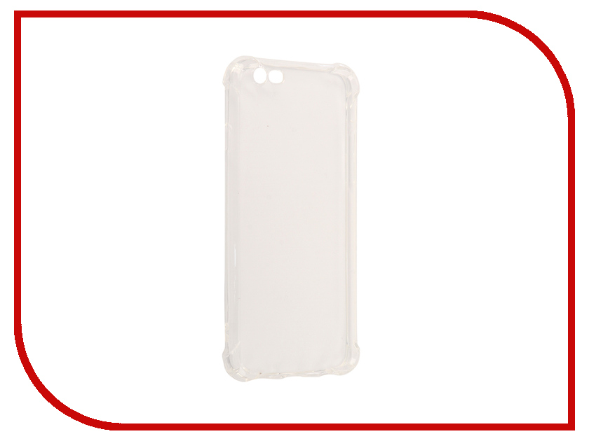 Аксессуар Чехол-накладка Monsterskin для APPLE iPhone 6 Силиконовый Transparent аксессуар чехол накладка dekken для apple iphone 4 4s transparent 20223