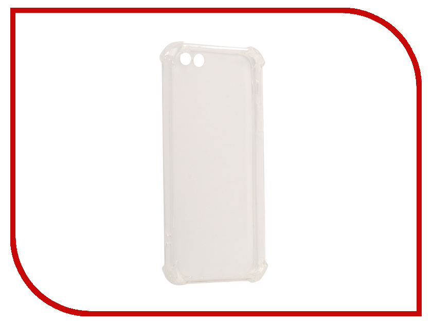 Аксессуар Чехол-накладка для APPLE iPhone 5 Innovation Silicone Transparent аксессуар чехол для apple iphone 6 innovation silicone transparent 12216