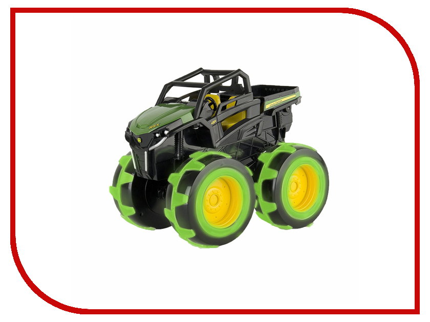 Машина Tomy John Deere Monster Treads Т11311 машина tomy john deere mega monster wheels т11312