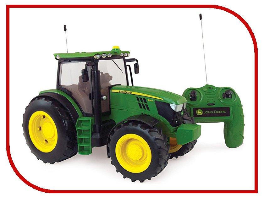 Игрушка Tomy Tomy John Deere 6190R Т11313 машинки tomy трактор john deere monster treads с большими резиновыми колесами tomy