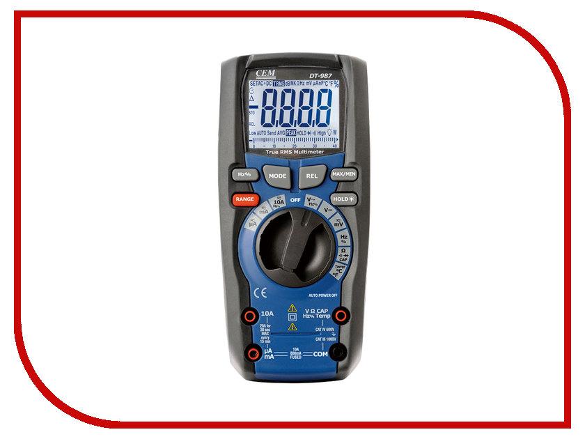 Мультиметр CEM DT-987 мультиметр cem dt 3290