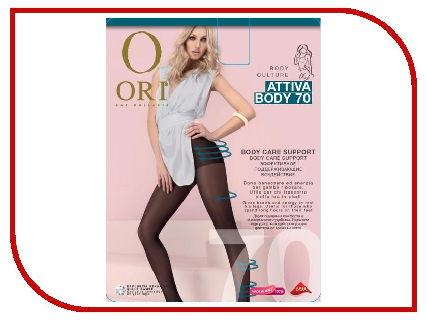 Колготки Ori Attiva Body размер 4 плотность 70 Den Nero