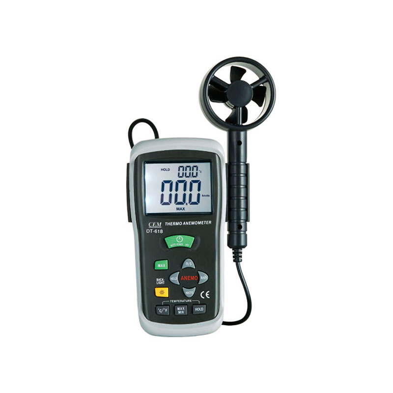 Анемометр CEM DT-618 клещи cem dt 3348