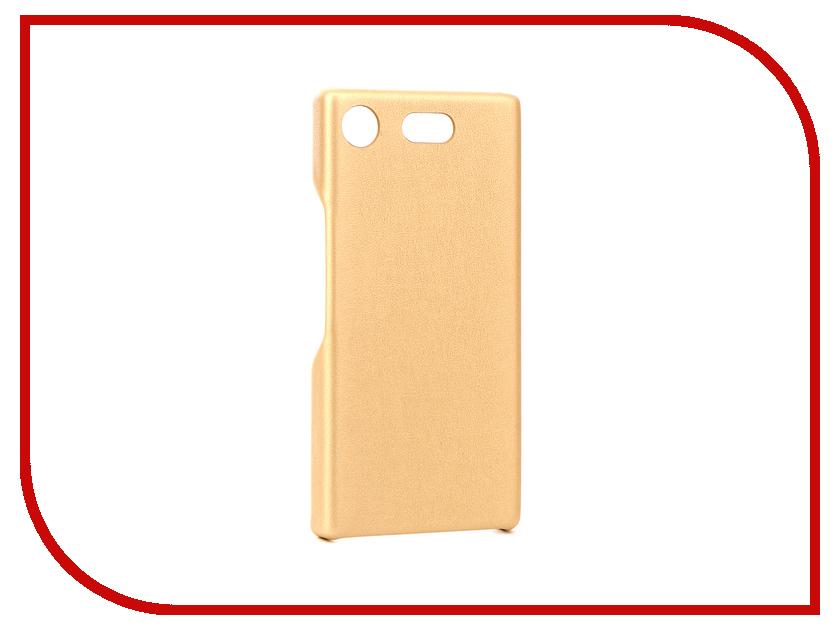 Аксессуар Чехол для Sony Xperia XZ1 Compact G-Case Slim Premium Gold GG-897 g case slim premium чехол для apple ipad mini 4 white
