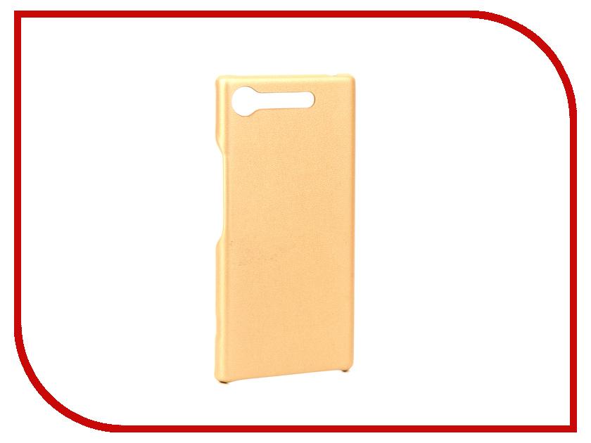 Аксессуар Чехол Sony Xperia XZ1 G-Case Slim Premium Gold GG-896