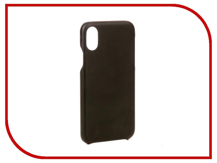 Аксессуар Чехол G-Case Slim Premium для APPLE iPhone X Black GG-893 g case slim premium чехол для apple iphone 7 black