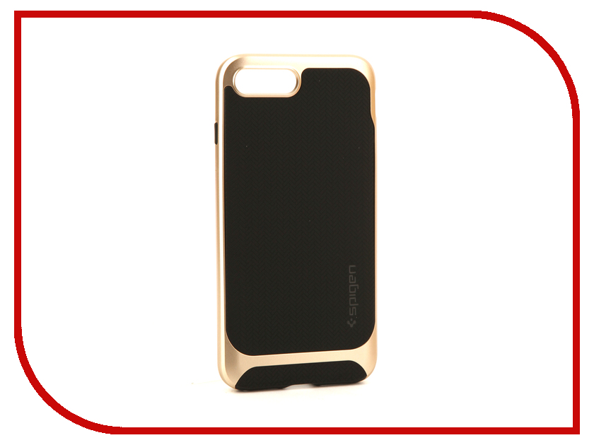 аксессуар чехол spigen airskin для apple iphone 7 plus transparent mat 043cs20499 Аксессуар Чехол Spigen Hybrid Herringbone для APPLE iPhone 8 / 7 Plus Champagne 055CS22231