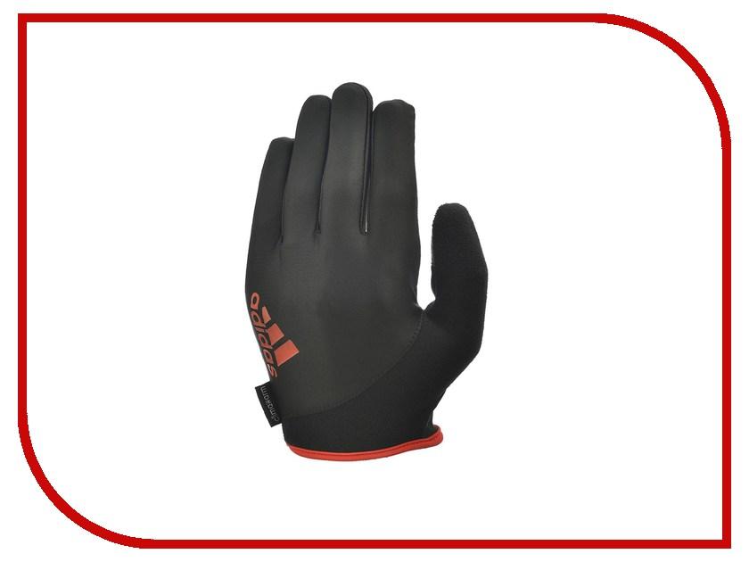 Перчатки для фитнеса Adidas Essential ADGB-12422RD размер M Black/Red цена